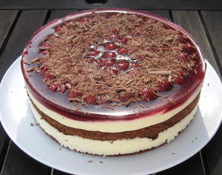 Kirsch-Mascarpone-Torte