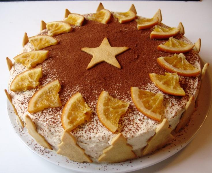 Weihnachts-Torte