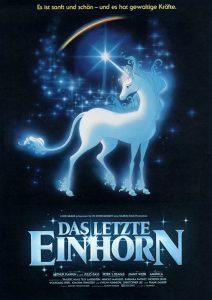 Filmplakat Das letzte Einhorn