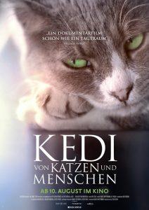 Filmplakat Kedi - von Katzen und Menschen