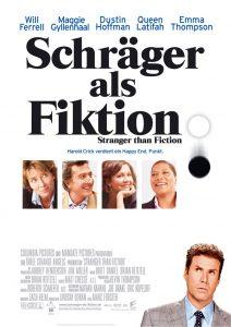Kinoplakat Schräger als Fiktion