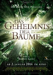 Filmplakat Das Geheimnis der Bäume