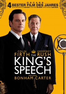 Plakat The King's Speech