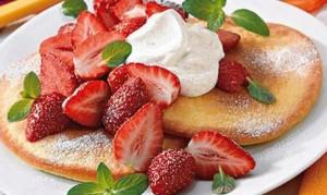 Erdbeer-Omelette