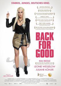 Filmplakat Back for good